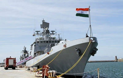 The Indian Naval Ship Teg, a Stealth Frigate of the Indian Navy