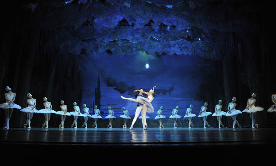 The Liaoning Ballet performing Swan Lake. Picture: Supplied